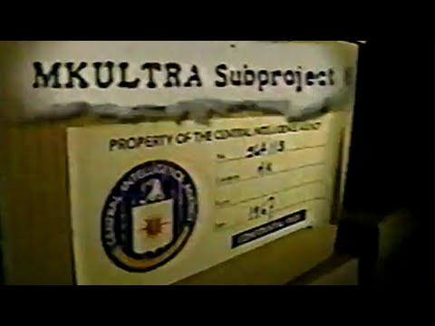 CIA Project MKULTRA - Mind Control In Canada