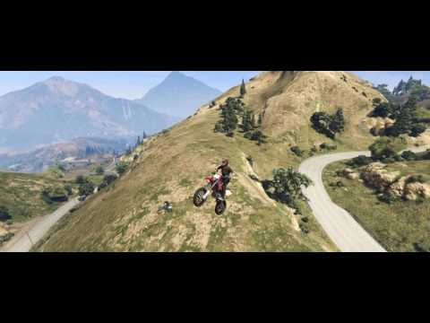 Flips With Zilisz - Motorcycle Stunt Jumps in Grand Theft Auto 5