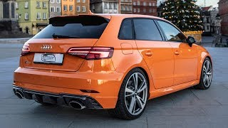 2018 EXCLUSIVE 400hp/5cyl AUDI RS3 SPORTBACK - Crazy color on the pocket rocket - In details
