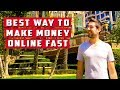 """Best Way To Make Money Online Fast"" - Best And Fastest Way To Make Money Online"