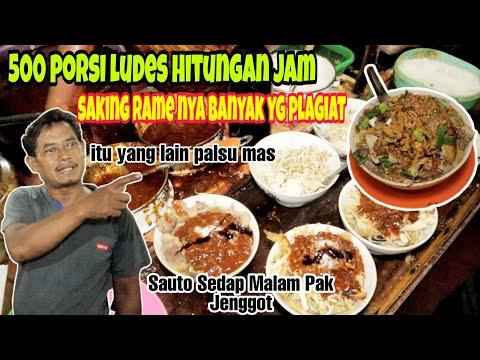Soto Tauco Pak Jenggot, Tegal SejakTahun 1982 .Sehari 500 Porsi Habis.Warung Sauto Sedap Malam