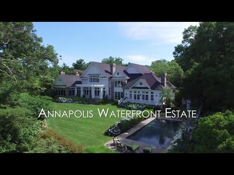 For Sale - Annapolis Waterfront Estate - 948 Melvin Road, Annapolis, Maryland 21403