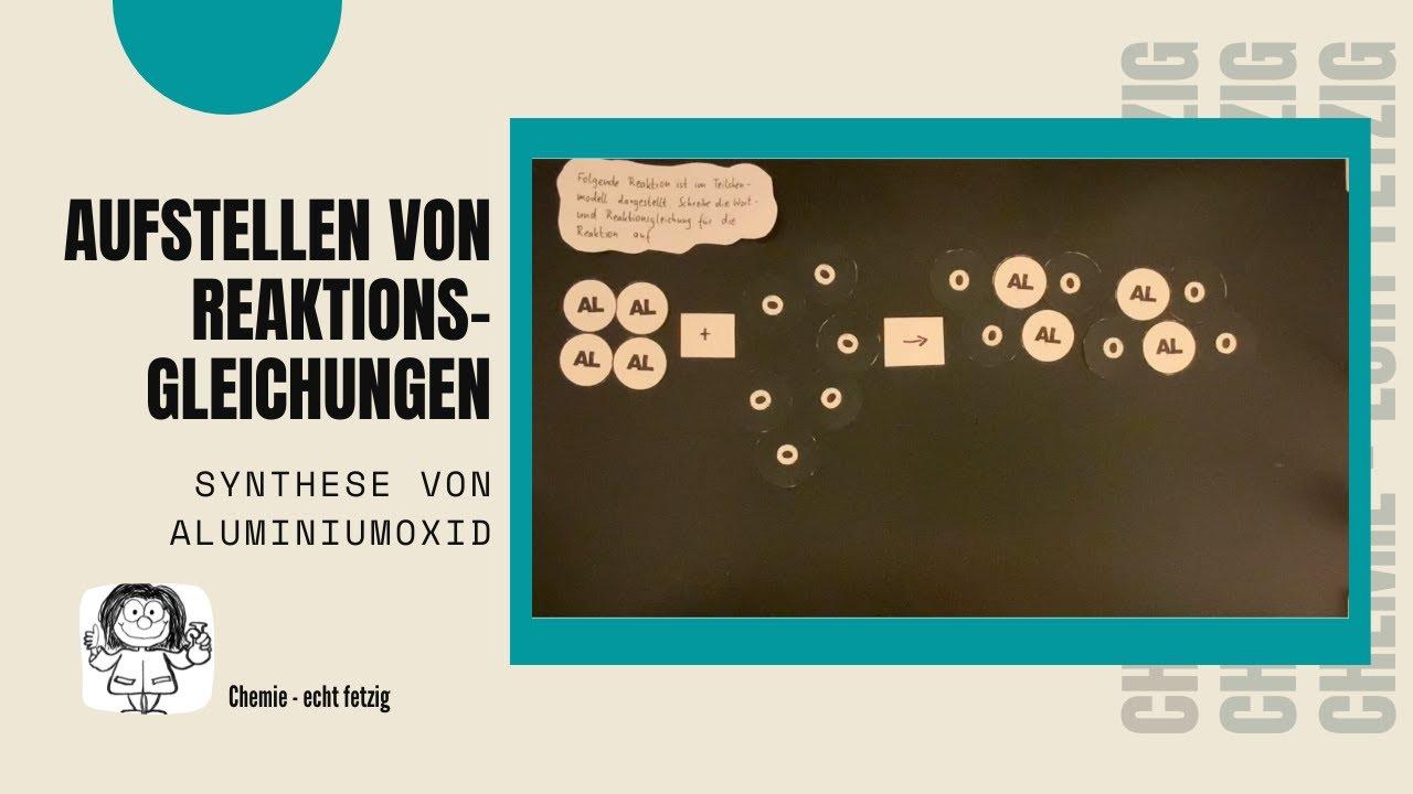 8 Aufstellen von Reaktionsgleichungen - Synthese von ...