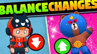 RIP Darryl and Bea | Long Live Tick | Brawl Stars Balance Changes
