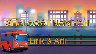 Gambar cover Shalawat Nariyah Lirik + Arti Kartun Anak