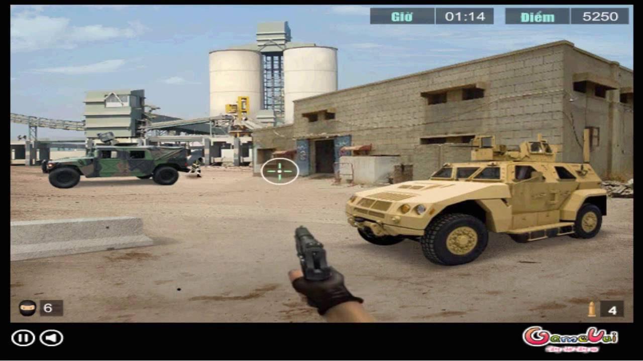 Hướng dẫn chơi game Xung đột quân sự – ARMY CONFLICT trên Game Vui