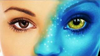 Avatar Navi transformation with Adobe Photoshop CS4