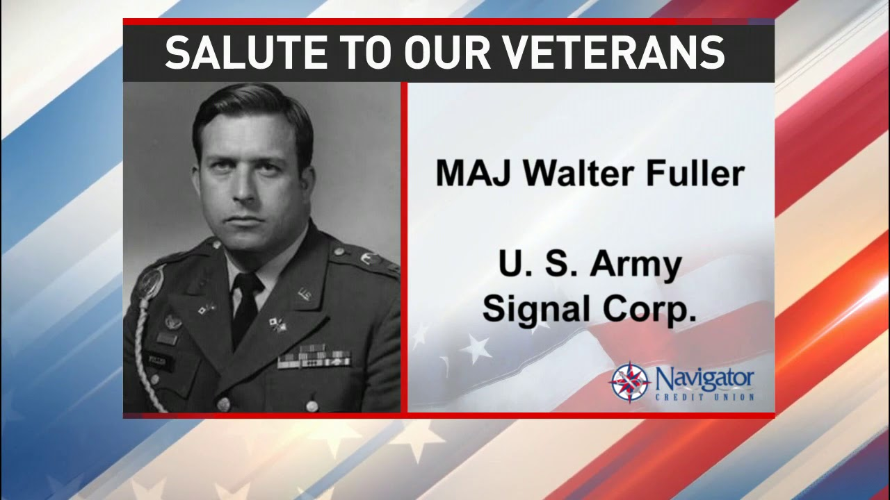 Salute to our veterans: Major Walter Fuller - NBC 15 WPMI