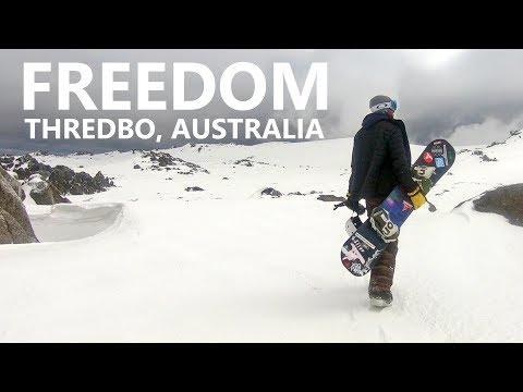 Snowboarding is Freedom - Thredbo, Australia