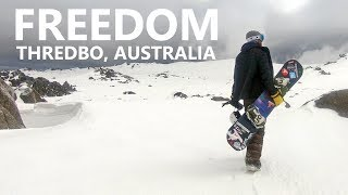 Snowboarding is Freedom - Thredbo, Australia
