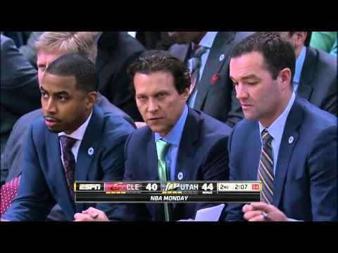 Derrick Favors Full Game Highlight VS Cleveland Cavaliers (18Points,5Rebounds,3Blocks)