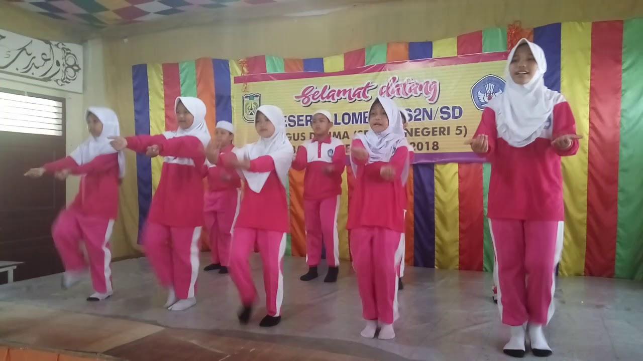 Senam Dancow Sdn 5 Banda Aceh Youtube