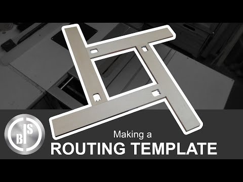 Awesome Jig!!! How to Make an Adjustable Routing Template