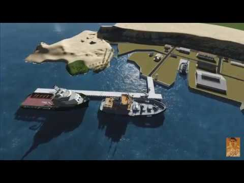 Animasi Dermaga Tni Angkatan Laut Tawiri Teluk Ambon Panjang
