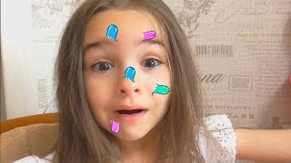 Lana funny kids story about big pimple