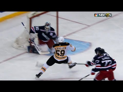Tim Schaller chases Henrik Lundqvist with spectacular goal