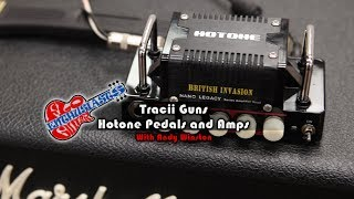 Tracii Guns Demonstrates Hotone Amps and Pedals on The Flo Guitar Enthusiasts
