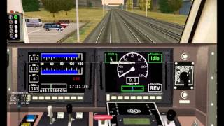 Let´s Play - Train Simulator 2001  -  Amtrak P42DC mit NJT-Wagen