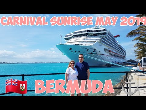 Carnival Sunrise May 2019 - Bermuda