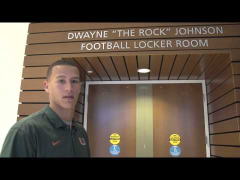 Miami Hurricanes Football | Locker Room | Tour