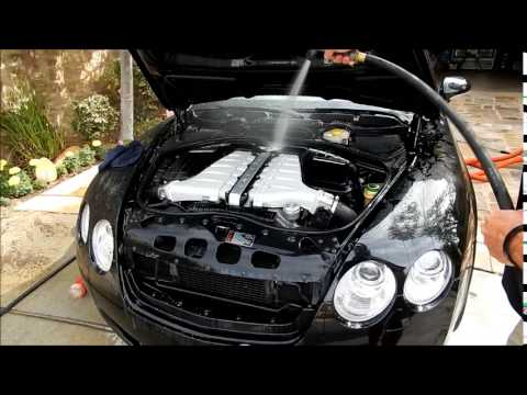 Detailing Car Engine: Bentley GTC