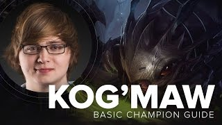 Kog'Maw ADC guide by Cloud9 Sneaky - Season 5 | League of Legends
