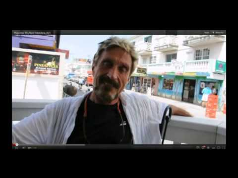 McAfee Antivirus Founder Wanted for Murder in Belize