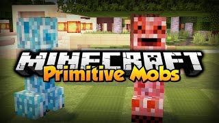 Minecraft Mod Showcase w/ iRaphahell : Primitive Mobs Mod 1.7.10