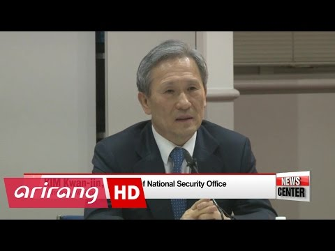 S. Korea's national advisor and incoming U.S. counterpart reaffirm in ...