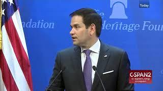 Artificial Intelligence & Disinformation - Marco Rubio & Panel