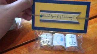 Diy Handmade Nautical Theme Baby Shower Party Favors Gifts