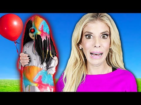Hydro Dipping CREEPY DOLL For Game Master! (WORST DIY Crafts Challenge) | Rebecca Zamolo
