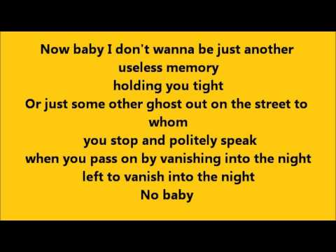 Bruce Springsteen - Fade Away with Lyrics