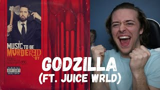 Eminem - Godzilla (ft. Juice Wrld) // REACTION!!!!