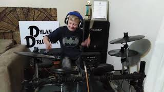 Jerusalema (Master KG) (Feat Nomcebo) Drum Cover by Dylan the Drummer