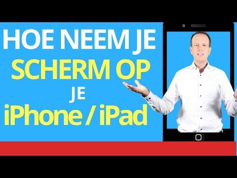 Video Opnemen Scherm Iphone