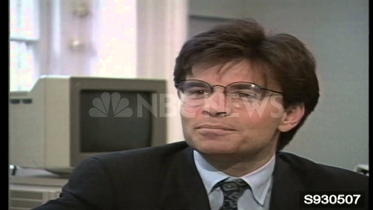 George Stephanopoulos - www.NBCUniversalArchives.com - YouTube