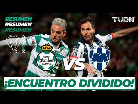Resumen   Santos 0 -  0 Rayados   Copa Mx - Cuartos de Final Ida   TUDN