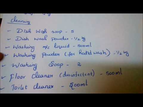 South Indian Grocery List | Grocery Shopping Tips | For Beginners