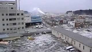 most shocking footage of the tsunami port kesennuma japan caught on cam by my friend