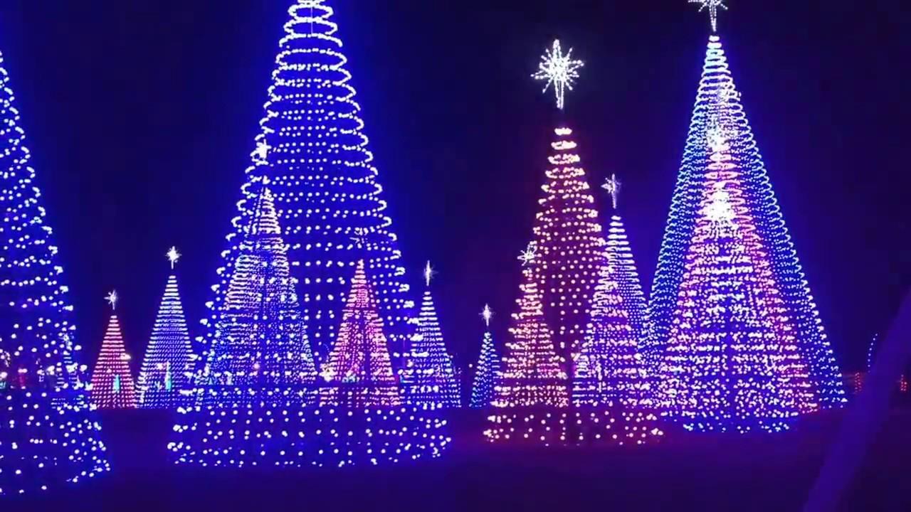 Gulfport Ms Christmas Lights 2016 - YouTube