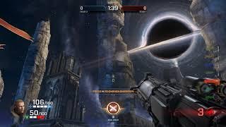 Apparently, rockets go far in Quake Champions.