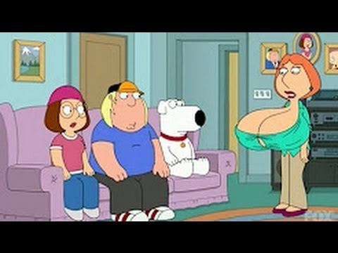Family Guy - Lois gets huge tits