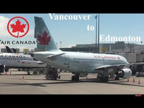 Trip Report: Air Canada A321 Economy Class Vancouver To Edmonton. YVR-YEG