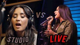 Download Video Demi Lovato - Studio vs Live (2018 Update) MP3 3GP MP4