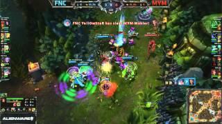 Fnatic (FNC) vs Meet Your Makers (MYM)    EU LCS Summer 2013 W4D1    Full Game HD