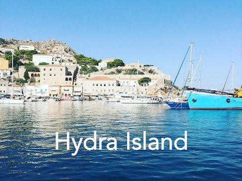 Hydra Island Trip (Greece Study Abroad) - YouTube
