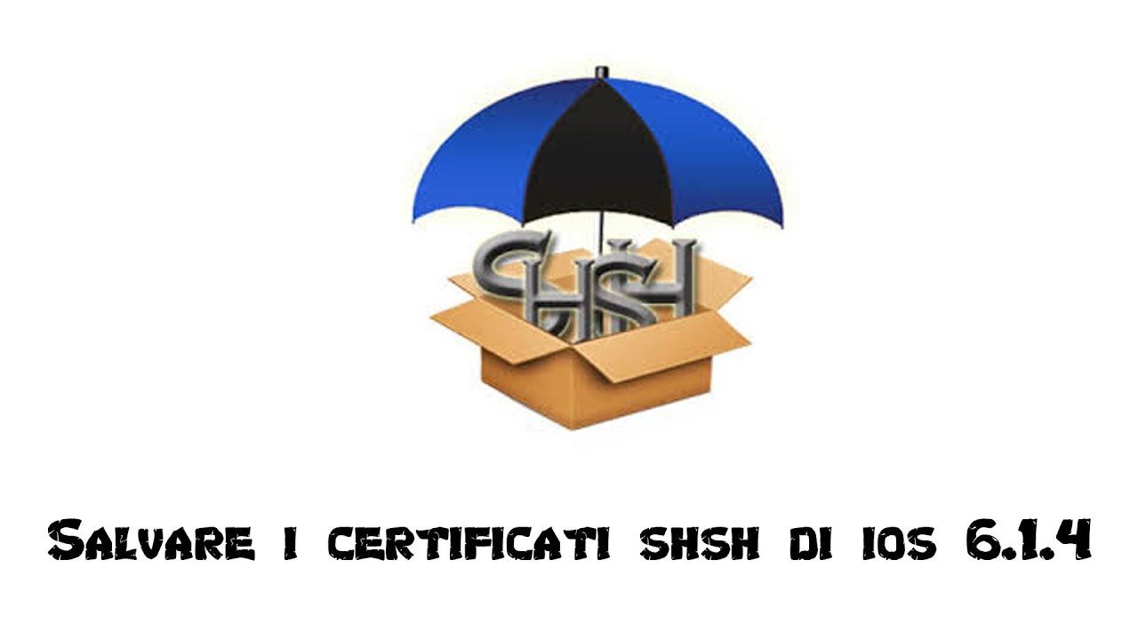 certificati shsh