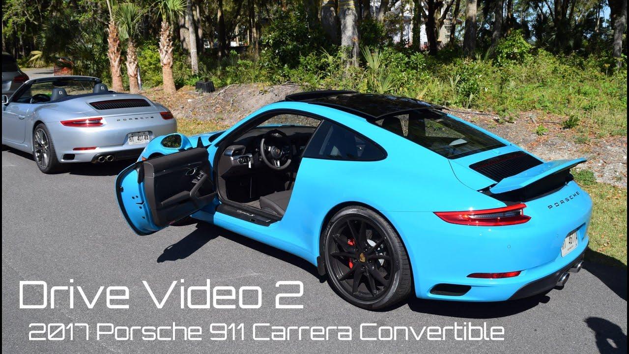 2017 Porsche 911 Convertible