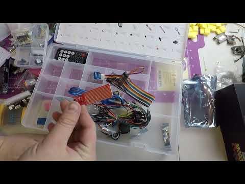 Elegoo Arduino Mega 2560 Ultimate Starter Kit Unboxing And Review
